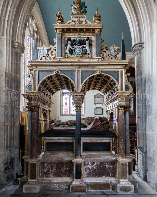 Tomb of William Cecil, 1st Lord Burghley (1520-1598)