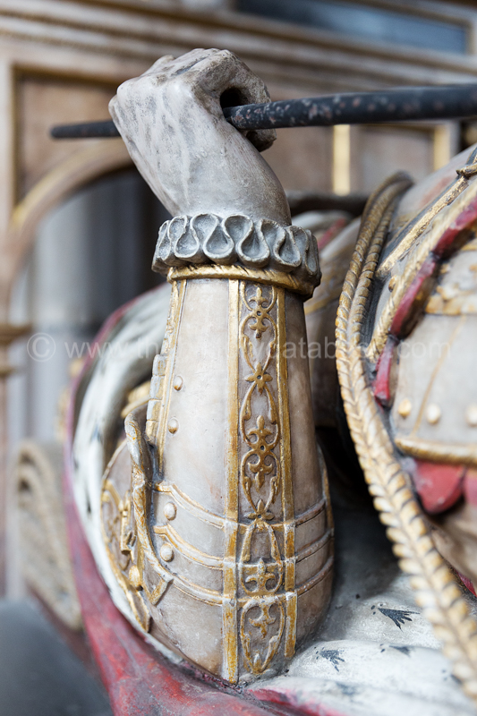 Detail of William Cecil's Staff of Office of Lord Treasurer
